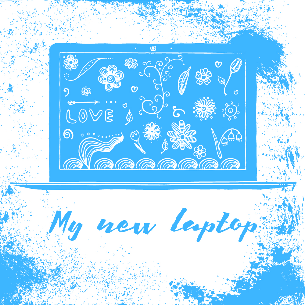 My new laptop